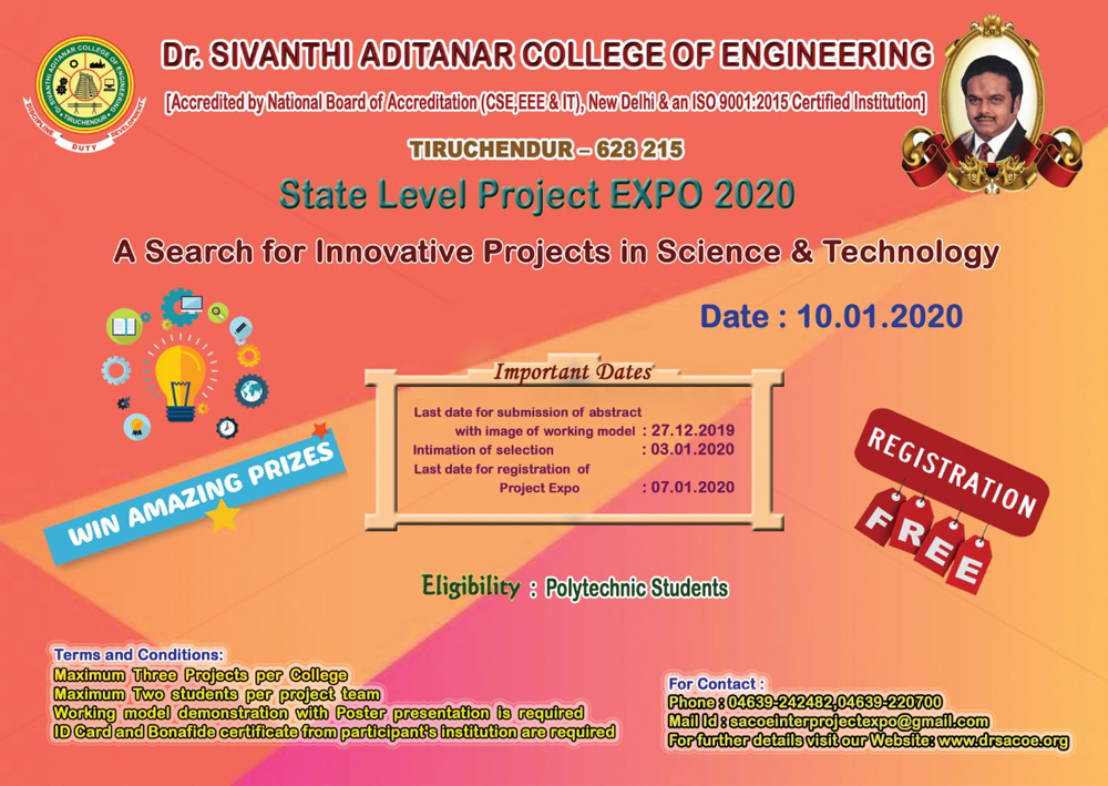State Level Project EXPO 2020
